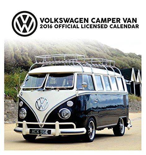 9781780549569: The Official VW Camper Van 2016 Desk Easel Calendar
