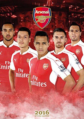 9781780549583: The Official Arsenal 2016 A3 Calendar (Calendar 2016)