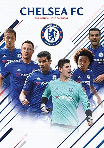 9781780549637: The Official Chelsea 2016 A3 Calendar (Calendar 2016)