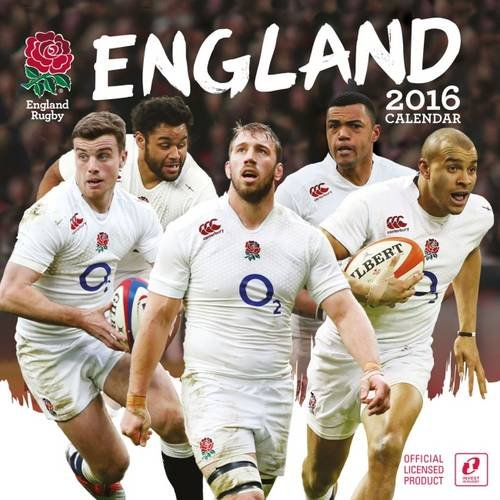 9781780549668: The Official England Rugby Union 2016 A3 Calendar