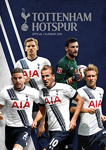 9781780549781: The Official Tottenham Hotspur 2016 A3 Calendar