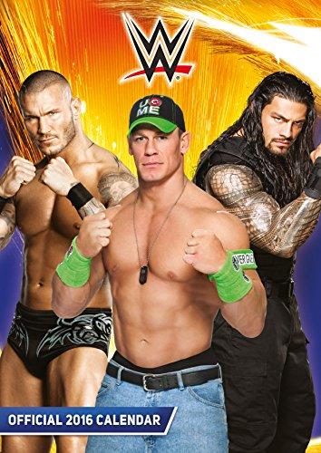 9781780549804: The Official World Wrestling (Wwe) 2016 A3 Calendar