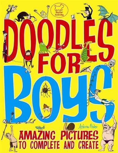 9781780550190: Doodles For Boys