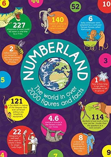 Numberland The World in over 2000 Figures & Facts: Steve Martin, Clive Gifford, Marianne Taylor