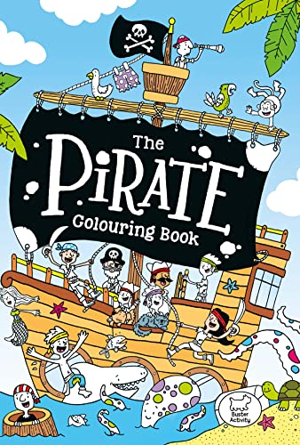The Pirate Colouring Book: Jake McDonald