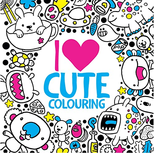 9781780553887: I Heart Cute Colouring
