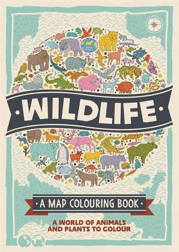 9781780553931: Wildlife (Map Colouring Books 2)