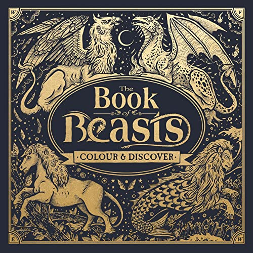 9781780554297: The Book of Beasts: Colour and Discover