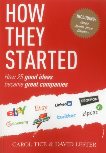 How They Started: How 25 Good Ideas: Lester, David, Tice,