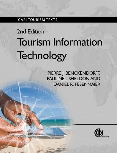 9781780641850: Tourism Information Technology (Tourism Studies)