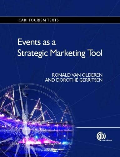9781780642611: Events as a Strategic Marketing Tool (Tourism Studies)