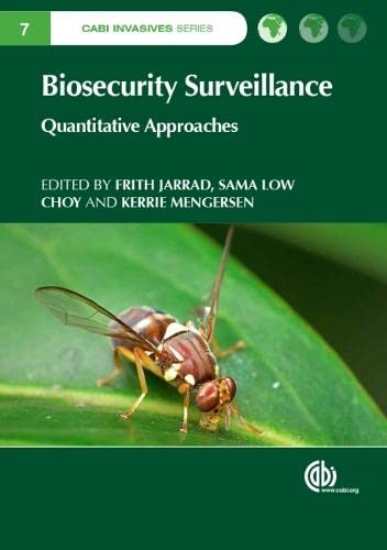 Biosecurity Surveillance: Quantitative Approaches (CABI Invasives Series)