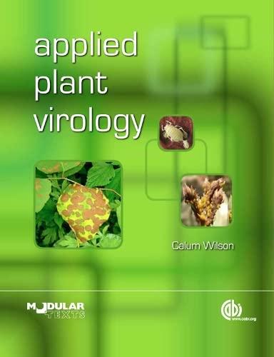 9781780644257: Applied Plant Virology (Modular Texts Series)