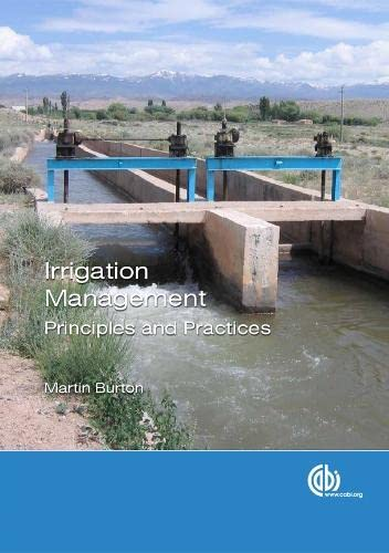 9781780644349: Irrigation Managemen: Principles and Practices