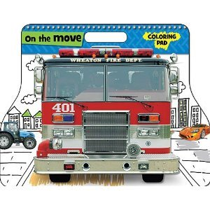9781780650593: On The Move (Coloring Pad, Large)