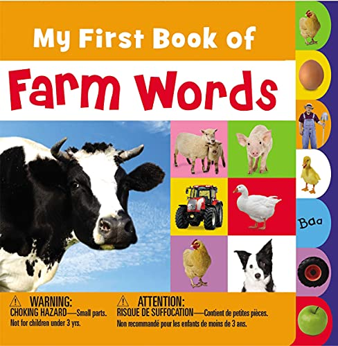 9781780653112: My First Book of Farm Words