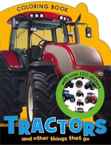 9781780653495: Tractors and other Things that Go Colouring Book (Boy and Girl Colouring and Sticker Books)