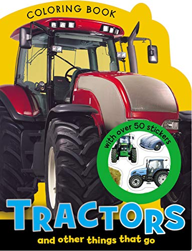 Tractors Mini Coloring Book (9781780657615) by Morrison, Karen