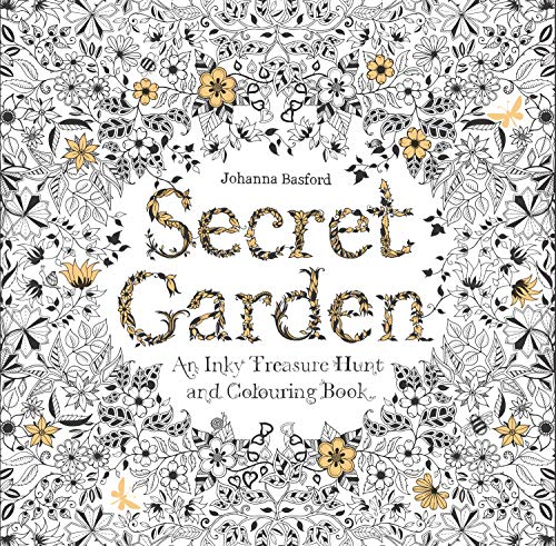 9781780671062: Secret Garden: An Inky Treasure Hunt and Coloring Book