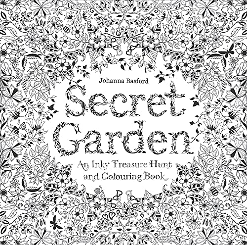 Secret Garden : An Inky Treasure Hunt: Johanna Basford