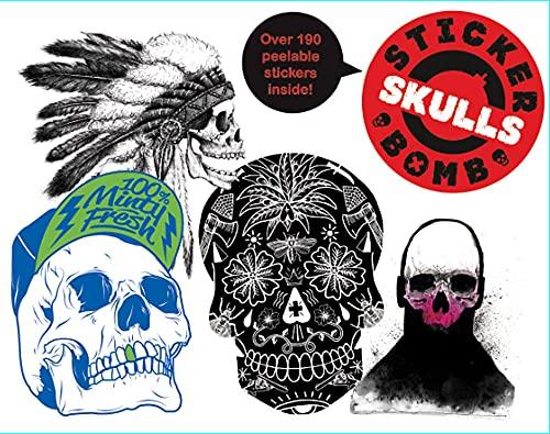 9781780671833: Stickerbomb Skulls