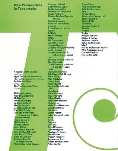 New Perspectives in Typography: Scott Williams, Henrik Kubel