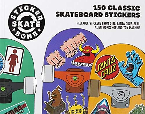 9781780674124: Stickerbomb skateboard