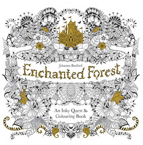 9781780674889 Enchanted Forest An Inky Quest Coloring Book