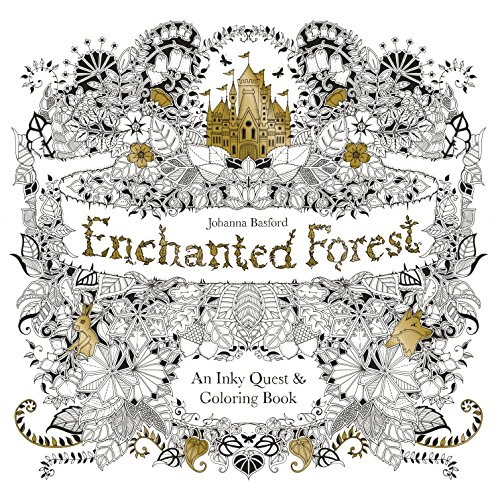 9781780674889 Enchanted Forest An Inky Quest Coloring Book US
