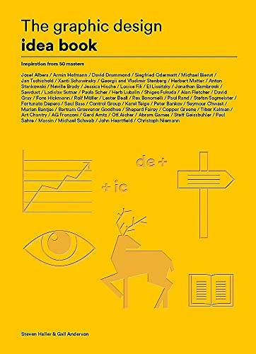 9781780677569: The Graphic Design Idea Book: Inspiration from 50 Masters
