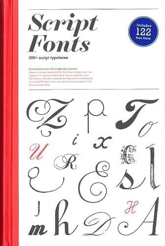 Script Fonts (Hardcover): Geum-Hee Hong
