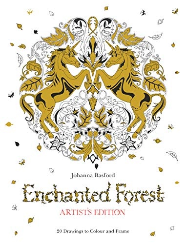 9781780677842: Enchanted Forest Artist's Edition: A Pull-Out and Frame Colouring Book