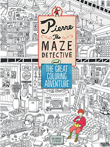 9781780677903: Pierre the Maze Detective and the Great Coloring Adventure