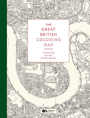 9781780678597: The Great British Colouring Map: A Colouring Journey Around Britain (Colouring Books)
