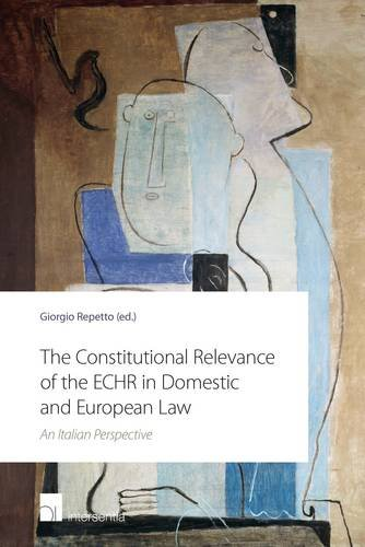 The Constitutional Relevance of the Echr in Domestic and European Law: An Italian Perspective: ...