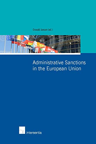 9781780681368: Administrative Sanctions in the European Union