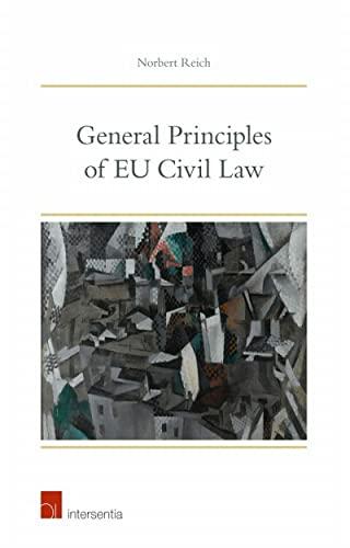 9781780681764: General Principles of Eu Civil Law