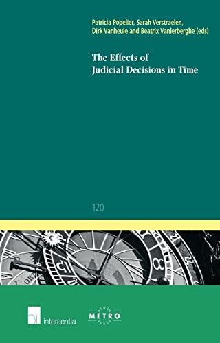 9781780681887: The Effects of Judicial Decisions in Time (Ius Commune Europaeum)