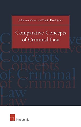 9781780682907: Comparative Concepts of Criminal Law 2015