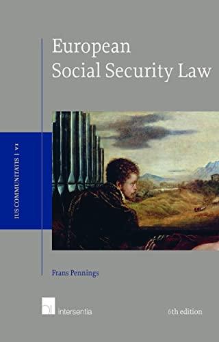 9781780683102: European Social Security Law, 6th edition (Ius Communitatis)
