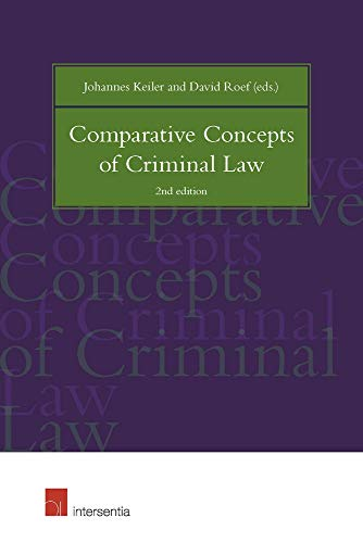 9781780683645: Comparative Concepts of Criminal Law 2016