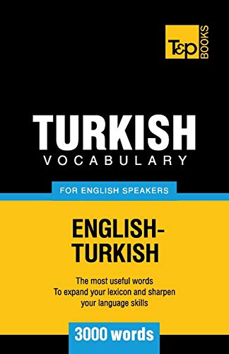 9781780710013: Turkish vocabulary for English speakers - 3000 words