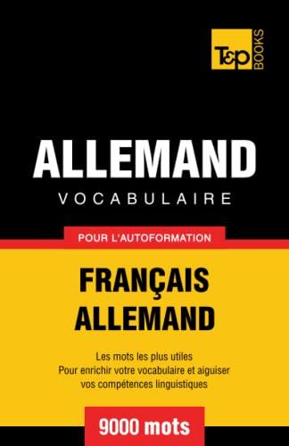 9781780711577: Vocabulaire fran�ais-allemand pour l'autoformation. 9000 mots