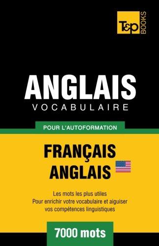 9781780711782: Vocabulaire Français-Anglais (AM) pour l'autoformation. 7000 mots