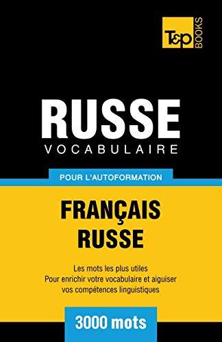 9781780711898: Vocabulaire Français-Russe pour l'autoformation. 3000 mots (French Edition)