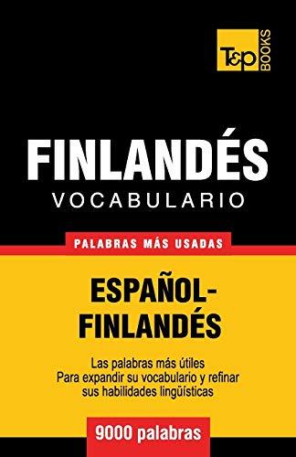 9781780714103: Vocabulario español-finlandés - 9000 palabras más usadas (T&P Books)