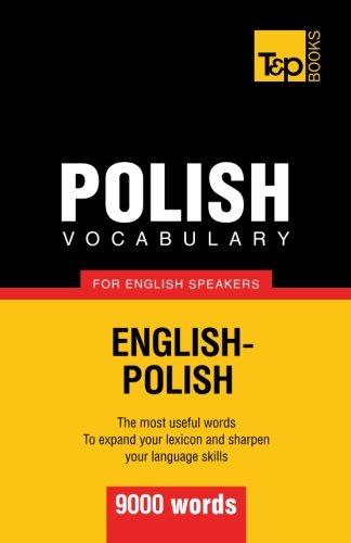 Polish vocabulary for English speakers - 9000 words: Taranov, Andrey