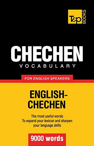 9781780716862: Chechen vocabulary for English speakers - 9000 words