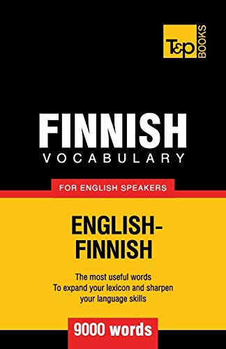 9781780718163: Finnish vocabulary for English speakers - 9000 words