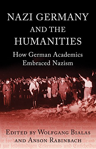 9781780744346: Nazi Germany and the Humanities: How German Academics Embraced Nazism